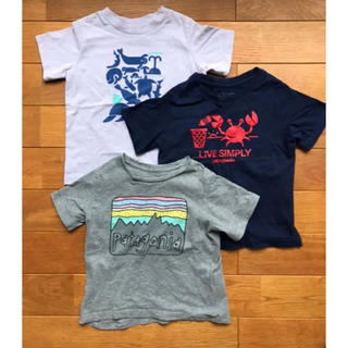 patagonia - パタゴニア ベビー オーガニックTシャツ 18M3枚セット キッズ