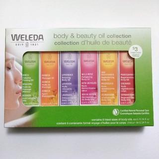 ヴェレダ(WELEDA)の【新品】6種類セット ヴェレダ オイルコレクション トライアル プレゼント(ボディオイル)