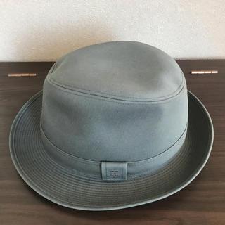 エルメス(Hermes)のエルメス紳士帽子FUNK グレー だるま様専用です☆(ハット)