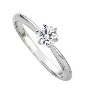 アガット(agete)のダイヤリング 0.19カラット (リング(指輪))
