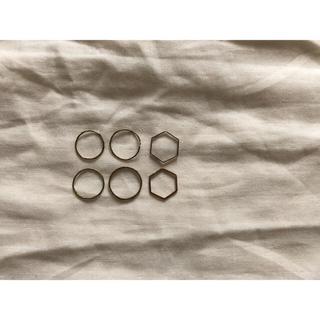 YAECA - gram 鎌倉 指輪 セット