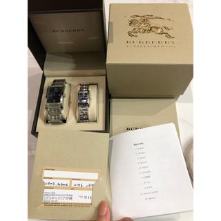 BURBERRY - Burberry ペアウォッチ 腕時計 メンズ レディース  美品