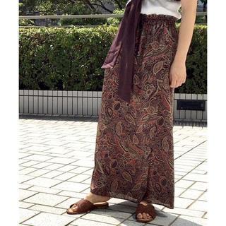 Spick and Span - アフリカンサラサプリント ラップスカート