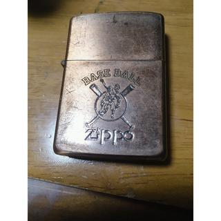 ジッポー(ZIPPO)のZippo 1987年製 Baseballロゴ(タバコグッズ)