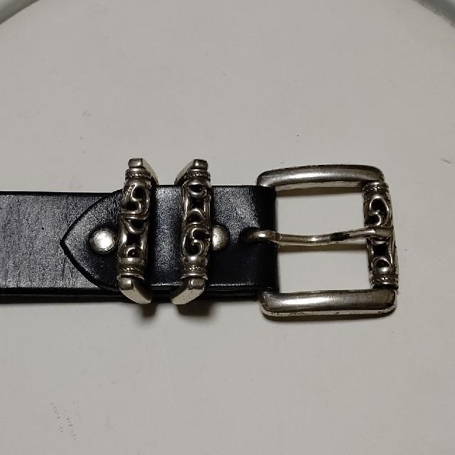 Chrome Hearts(クロムハーツ)のあざ様専用!ダブルローラーベルト メンズのファッション小物(ベルト)の商品写真
