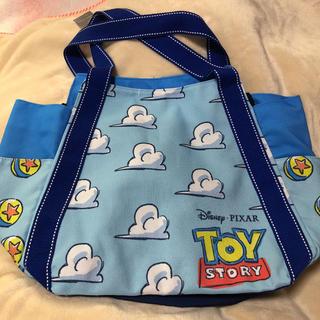 Disney - トイストーリー トートバック ピクサー ディズニー ピクサープレイタイム 雲