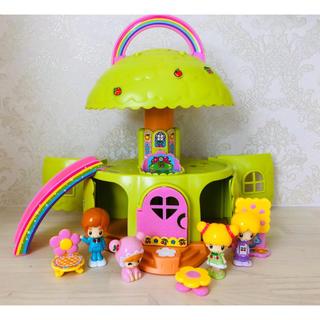 Takara Tomy - こえだちゃん はじめての木のおうち 人形付き♡ おもちゃ 知育玩具 人形