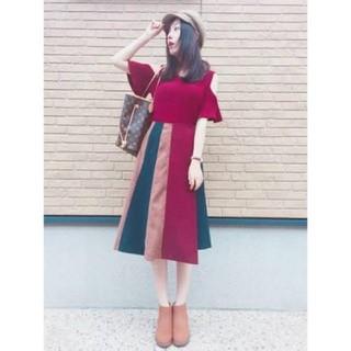 REDYAZEL - スエードヴィンテージ巻きスカート