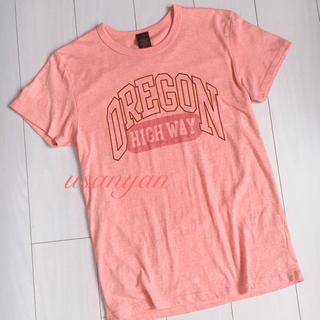 アングリッド(Ungrid)のungrid アングリッド Tシャツ オレンジ ミルキーカラー tee 春物 春(Tシャツ(半袖/袖なし))