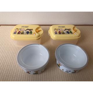 スヌーピー(SNOOPY)のスヌーピー電子レンジ&ホーロー容器(収納/キッチン雑貨)
