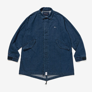 W)taps - 20ss descendant CRICKET DENIM JACKET