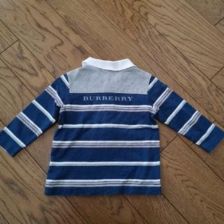 BURBERRY - バーバリー 長袖カットソー シャツ 80
