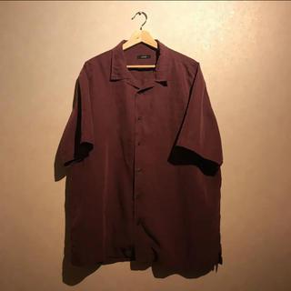 アートヴィンテージ(ART VINTAGE)の古着シャツ 柄シャツ レア オープンカラーシャツ(シャツ)