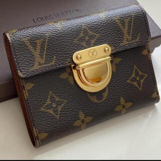 LOUIS VUITTON - 未使用に近い正規品ルイヴィトン折財布