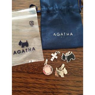アガタ(AGATHA)のアガタ ペンダントトップ 4点セット(チャーム)
