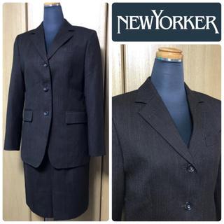 ニューヨーカー(NEWYORKER)のNEWYORKER スカートスーツ セットアップ ニューヨーカー【美品】(スーツ)
