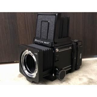 マミヤ(USTMamiya)の送込 防湿庫保管 極上 Mamiya RB 67 PRO SD ボディ マミヤ(フィルムカメラ)