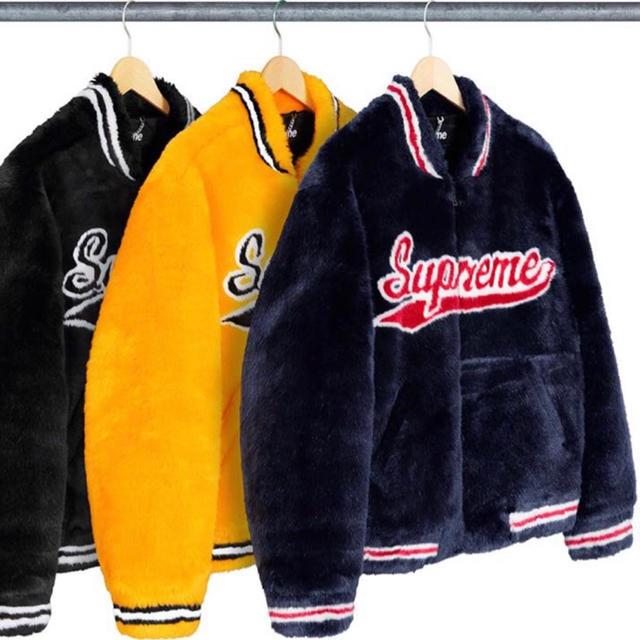 Supreme(シュプリーム)のsupreme week1 Faux Fur Varsity Jacket メンズのジャケット/アウター(その他)の商品写真