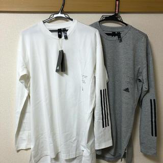 アディダス(adidas)のadidas長袖Tシャツ 2枚セットで(Tシャツ(長袖/七分))