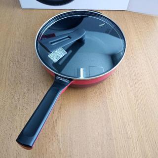【新品未使用】平野レミ レミパン プラス24cm(レッド)RHF-302(鍋/フライパン)