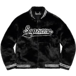 Supreme - supreme 20ss faux fur Varsity Jacket