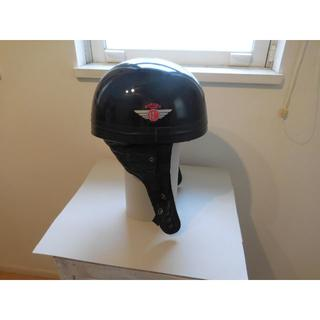 ルイスレザー(Lewis Leathers)のDAVIDA ハーフへルメット カフェレーサー ブラック(ヘルメット/シールド)
