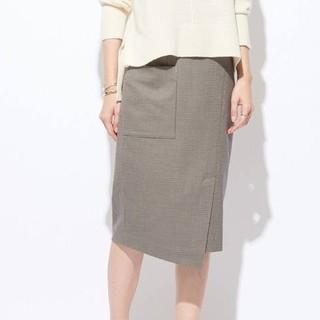 ガリャルダガランテ(GALLARDA GALANTE)のGALLARDA GALANTE ポケットチェックタイトスカート(ひざ丈スカート)