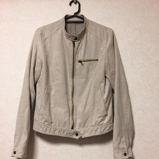 アンダーカレント(UNDERCURRENT)のライダースジャケット  美品(ライダースジャケット)