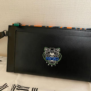 KENZO - [新品 新シーズン]KENZO タイガー カードホルダー付きクラッチ 長財布