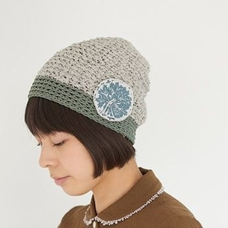 mina perhonen - ミナペルホネン ニット 帽子 hitomi shinoyama