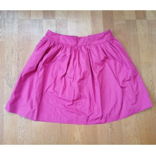 アンタイトル(UNTITLED)のUNTITLED 膝丈スカート  サイズ4(LL相当) ピンク(ひざ丈スカート)