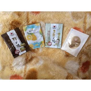 シセイドウ(SHISEIDO (資生堂))の日本製入浴剤 4つ(入浴剤/バスソルト)
