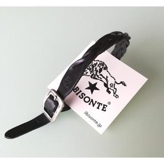 イルビゾンテ(IL BISONTE)のイルビゾンテ 牛革ブレスレット ステッカー付(ブレスレット)
