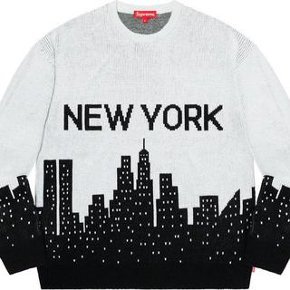 Supreme - Supreme New York Sweater L White