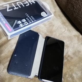 ELECOM - HUAWEI P30 lite 手帳型ケース 新品 ELECOM ネイビー