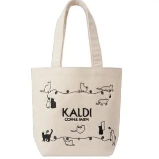 カルディ(KALDI)の《バッグのみ》カルディ ネコの日バッグ プレミアム(トートバッグ)