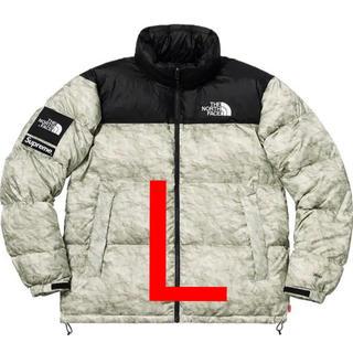 Supreme - The North Face nuptse jacket Lサイズ 紙ヌプシ