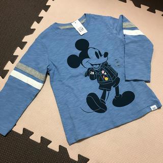 babyGAP - 【新品】ベビー ギャップ ディズニー ミッキー 長袖 Tシャツ 100cm