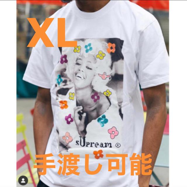 Supreme(シュプリーム)のsupreme naomi tee 白 XL メンズのトップス(Tシャツ/カットソー(半袖/袖なし))の商品写真
