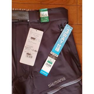 シマノ(SHIMANO)の新品未使用 シマノ 撥水ストレッチ デタッチャブルパンツ PA-044R(ウエア)