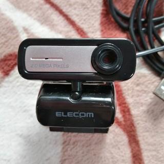 エレコム(ELECOM)の【美品】Webカメラ  ELECOM UCAM-C0220FBNBK(PC周辺機器)