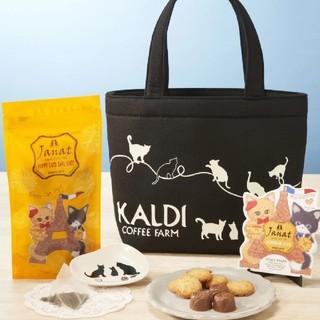 カルディ(KALDI)のカルディ  ネコの日 バッグ (トートバッグ)
