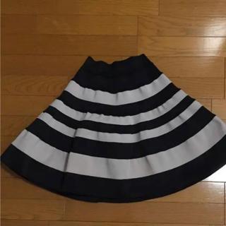 ドロシーズ(DRWCYS)のボーダースカートd(ひざ丈スカート)