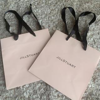 JILLSTUART - ジルスチュアート 紙袋 ショップ袋 2つセット