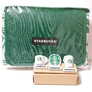 Starbucks Coffee - スターバックス 福袋 2020 レジャーシート クリップ3個