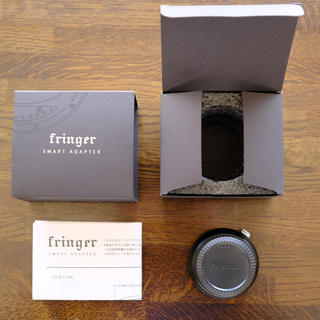 Fringer フリンガー FR-FX10 電子マウントアダプター 保証あり