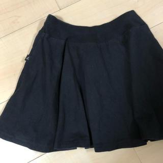 アニエスベー(agnes b.)の120cm360度の黒フレアースカート(スカート)