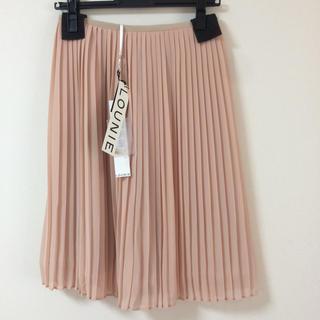 ルーニィ(LOUNIE)の卒業・入学式に【未使用】プリーツスカート(ひざ丈スカート)