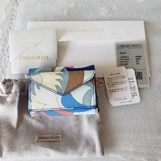 エミリオプッチ(EMILIO PUCCI)のEMILIO PUCCI三つ折りウォレット(財布)