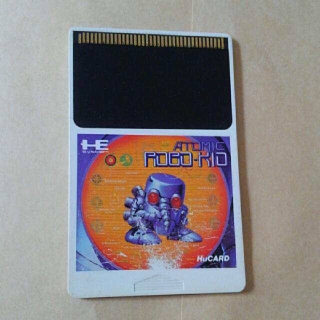 NEC(エヌイーシー)のPCエンジンソフト アトミックロボキッド エンタメ/ホビーのゲームソフト/ゲーム機本体(家庭用ゲームソフト)の商品写真